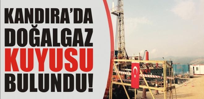 Kandıra'da doğalgaz kuyusu bulundu