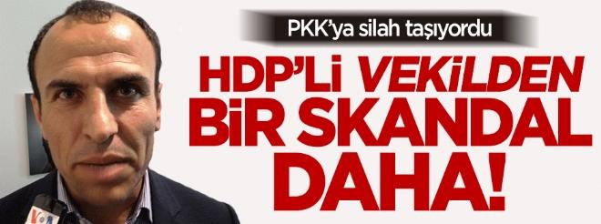 HDP'li Sarıyıldız teröristi hastaneye götürdü