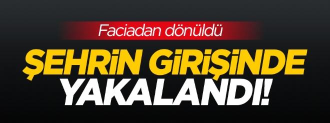 Diyarbakır'da canlı bomba yakalandı!