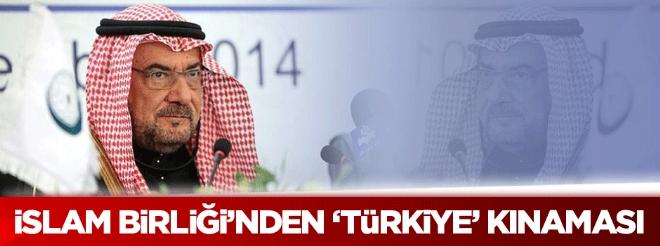 İslam Birliği'nden 'Türkiye' kınaması