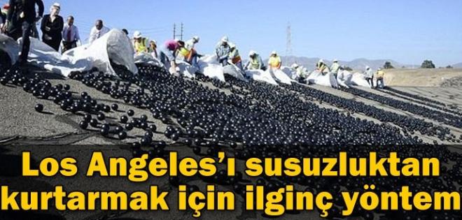 Los Angeles'ı susuzluktan kurtarmak için...