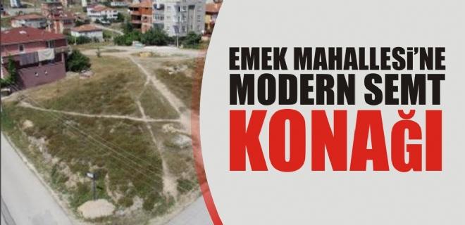 EMEK MAHALLESİ'NE MODERN SEMT KONAĞI
