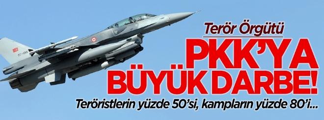 PKK'ya büyük darbe! Kampların yüzde 80'i...