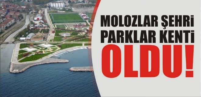 Molozlar şehri, parklar kenti oldu