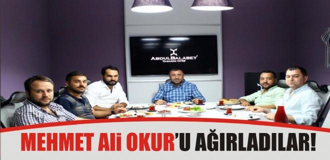 Mehmet Ali Okur'u ağırladılar
