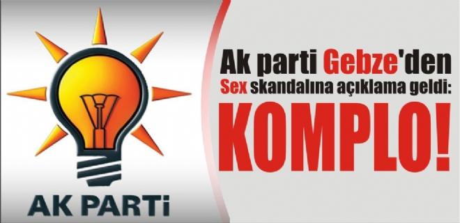 AK PARTİ GEBZE'DE KOMPLO!