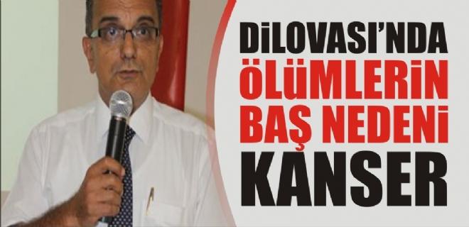 DİLOVASI'NDA ÖLÜMLERİN BAŞ NEDENİ KANSER