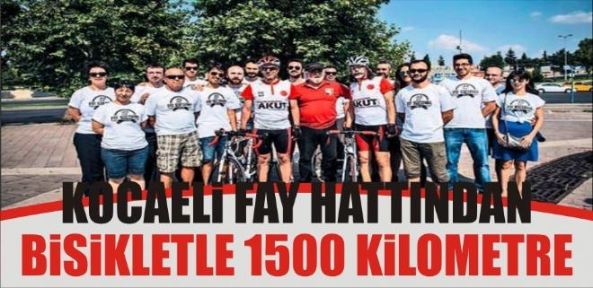 Kocaeli Fay Hattından Bisikletle 1500 Kilometre
