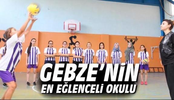 Gebze'nin en eğlenceli okulu
