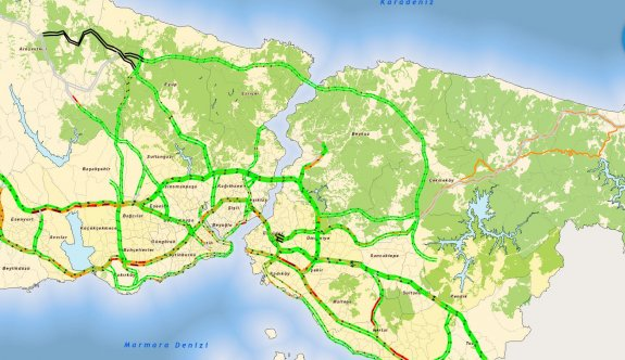 İstanbul artık yemyeşil