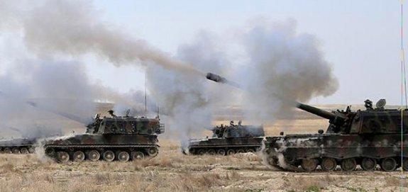 TSK Membiç'ten YPG'yi vurdu