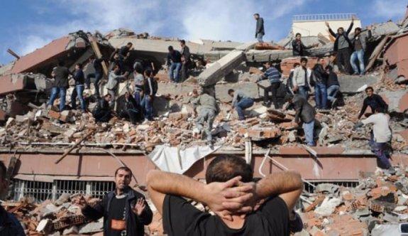 Van depreminde FETÖ hainliği