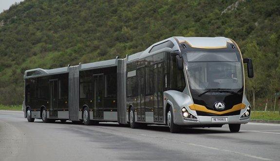 290 kişilik metrobüs