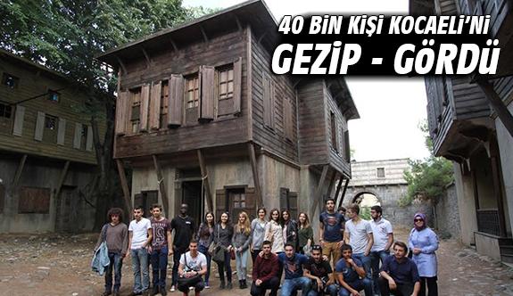 40 bin kişi Kocaeli'ni Gezip - Gördü