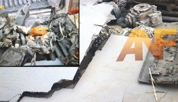 ABD Drone'u ile PKK propagandası
