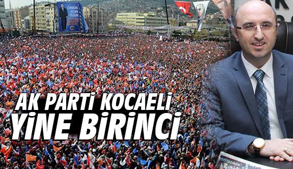 AK Parti Kocaeli yine birinci