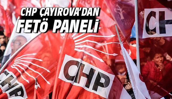 CHP Çayırova'dan FETÖ Paneli