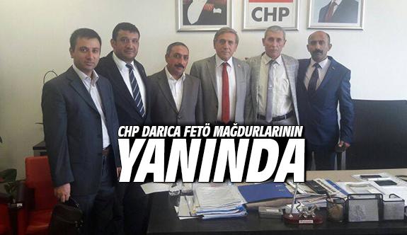 CHP Darıca Fetö Mağdurlarının Yanında