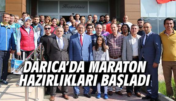 Darıca'da Maraton Hazırlıkları Başladı