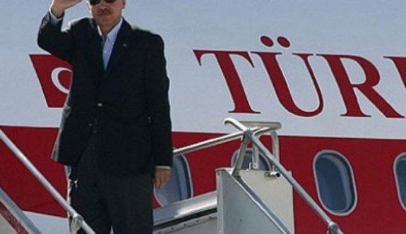 Erdoğan ABD'den döndü