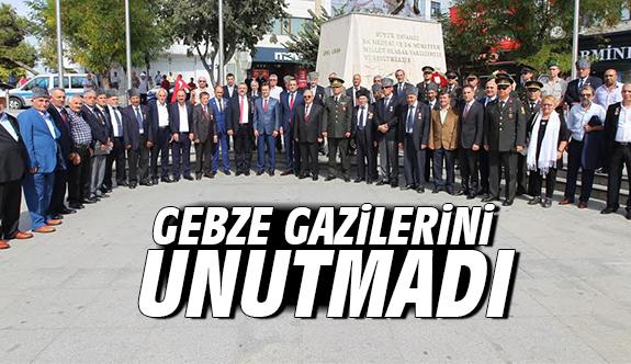 Gebze Gazilerini Unutmadı