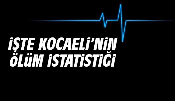 İşte Kocaeli'nin ölüm istatistiği
