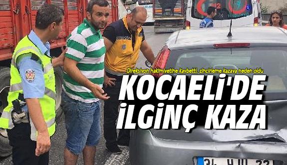 Kocaeli'de ilginç kaza