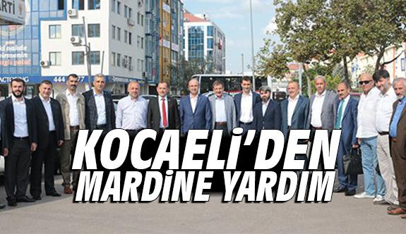 Kocaeli'den Mardin'e yardım