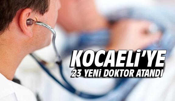 Kocaeli'ye 23 yeni doktor atandı