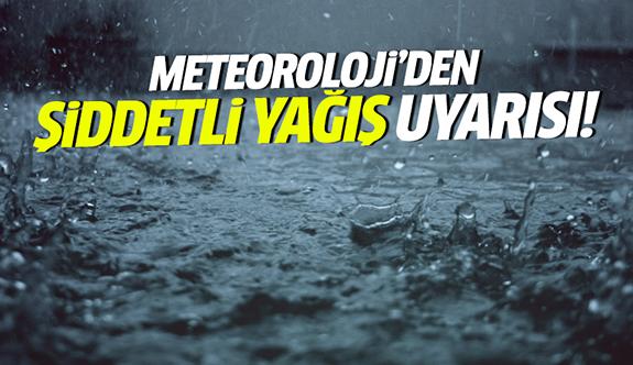 Kocaeli'ye kuvvetli yağış uyarısı!