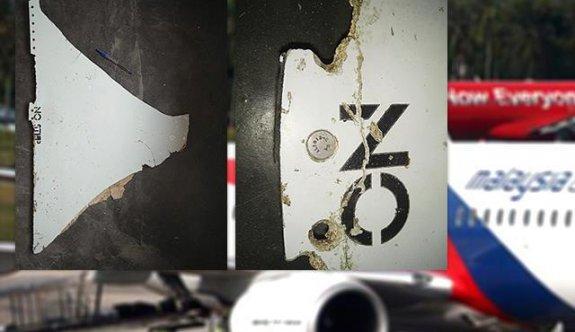 Malezya uçağına ait parça bulundu