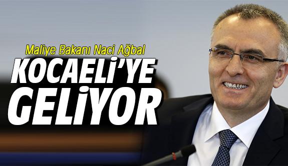 Maliye Bakanı Ağbal Kocaeli'ye geliyor