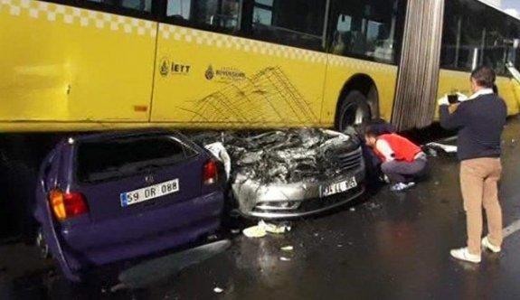 Metrobüs kazası saldırganı tutuklandı