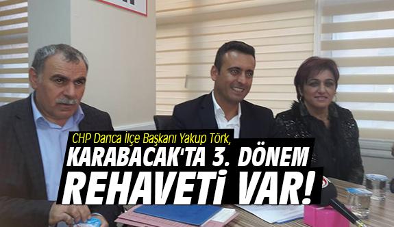 Törk: Karabacak'ta 3. dönem rehaveti var!