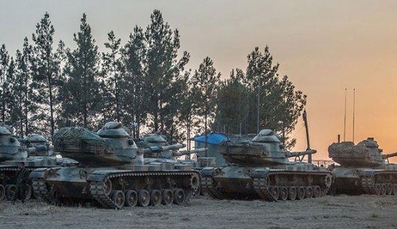 Türk tankları Çobanbey'e girdi!