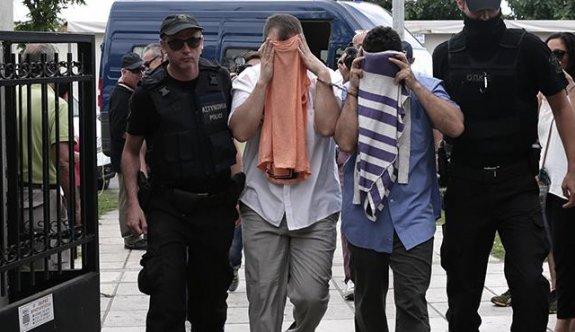 Yunanistan'a kaçan darbeciler tutuklandı