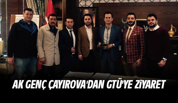 Ak Genç Çayırova'dan GTÜ'ye Ziyaret