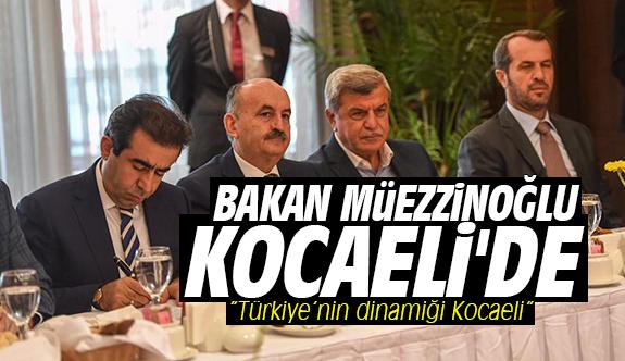 Bakan Müezzinoğlu Kocaeli'de