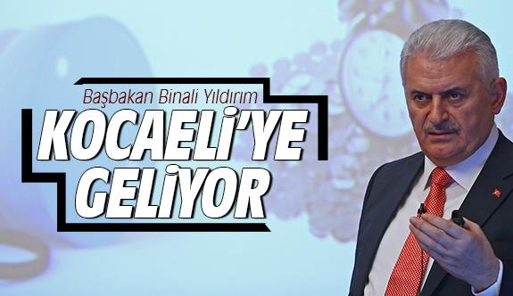 Başbakan Kocaeli'ye geliyor