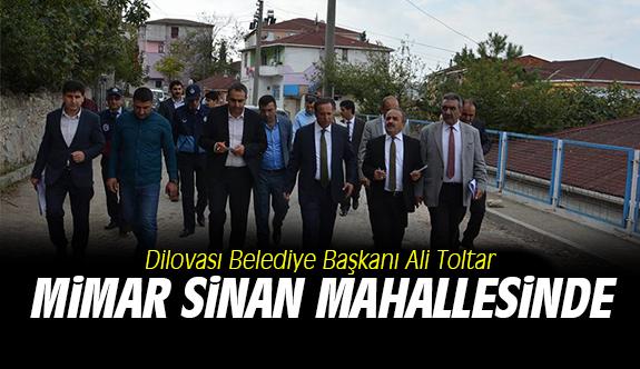 Başkan Mimar Sinan Mahallesinde