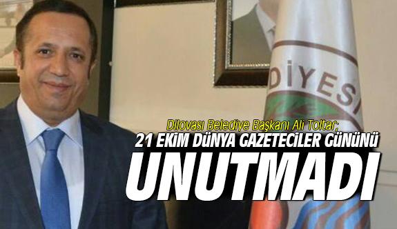 Başkan Toltar,21 Ekim Dünya Gazeteciler Gününü Kutladı