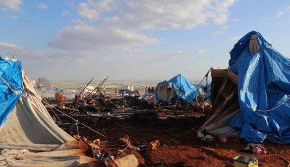Çadır kente bombalı saldırı!