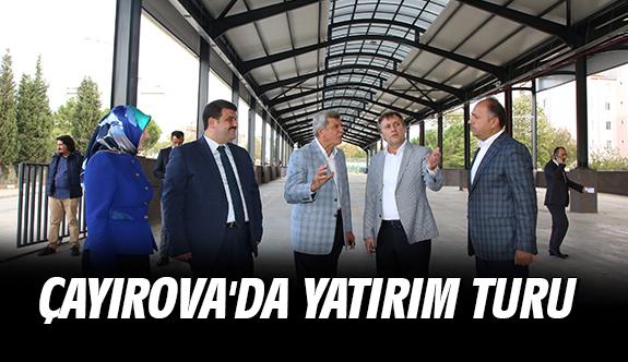 Çayırova'da Yatırım Turu