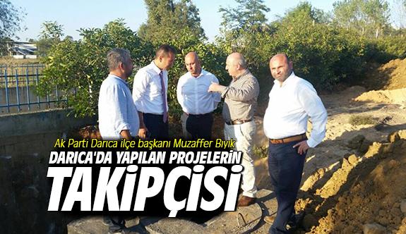 Darıca'da yapılan projelerin takipçisi
