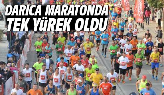 Darıca Maratonda Tek Yürek Oldu