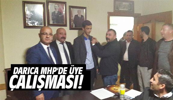 Darıca MHP'de üye çalışması!