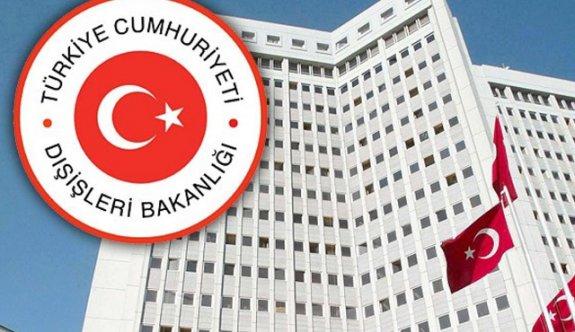 Dışişlerinden Irak'ın Türk askeri kararına tepki