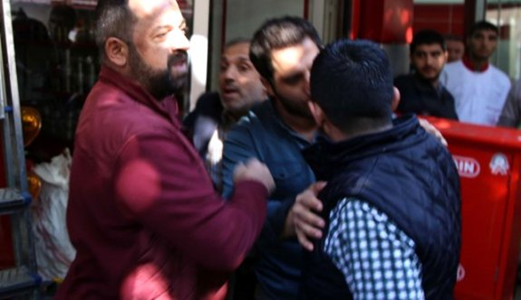 Diyarbakır'da esnaftan HDP'lilere tepki