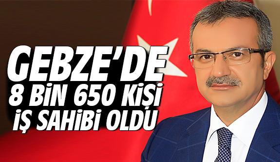 Gebze'de 8 bin 650 kişi iş sahibi oldu