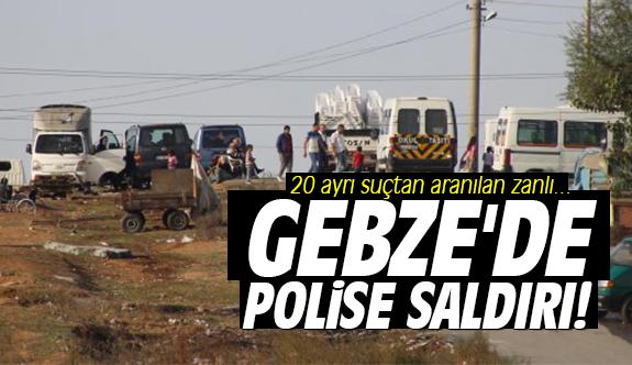 Gebze'de polise saldırı!